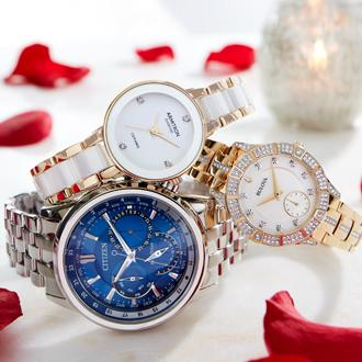 15-50% OFF  Fine & fashion watches +EXTRA 15% OFF* with coupon  or code:CUPIDS select styles | Ends 1/24