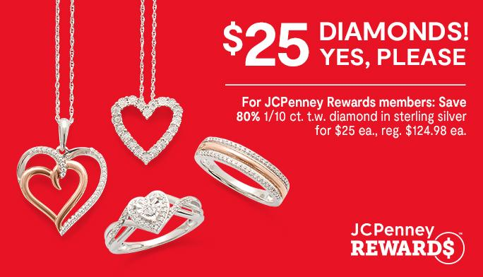 $25 Diamonds! Yes, Please.