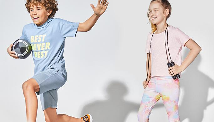 Activewear These styles take them from practice to play in comfort.