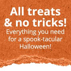 All treats & no tricks! Everything you need for a spook-tabular Halloween!