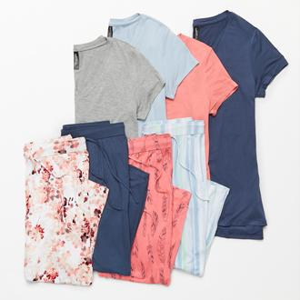 Ambrielle mix & match sleep separates