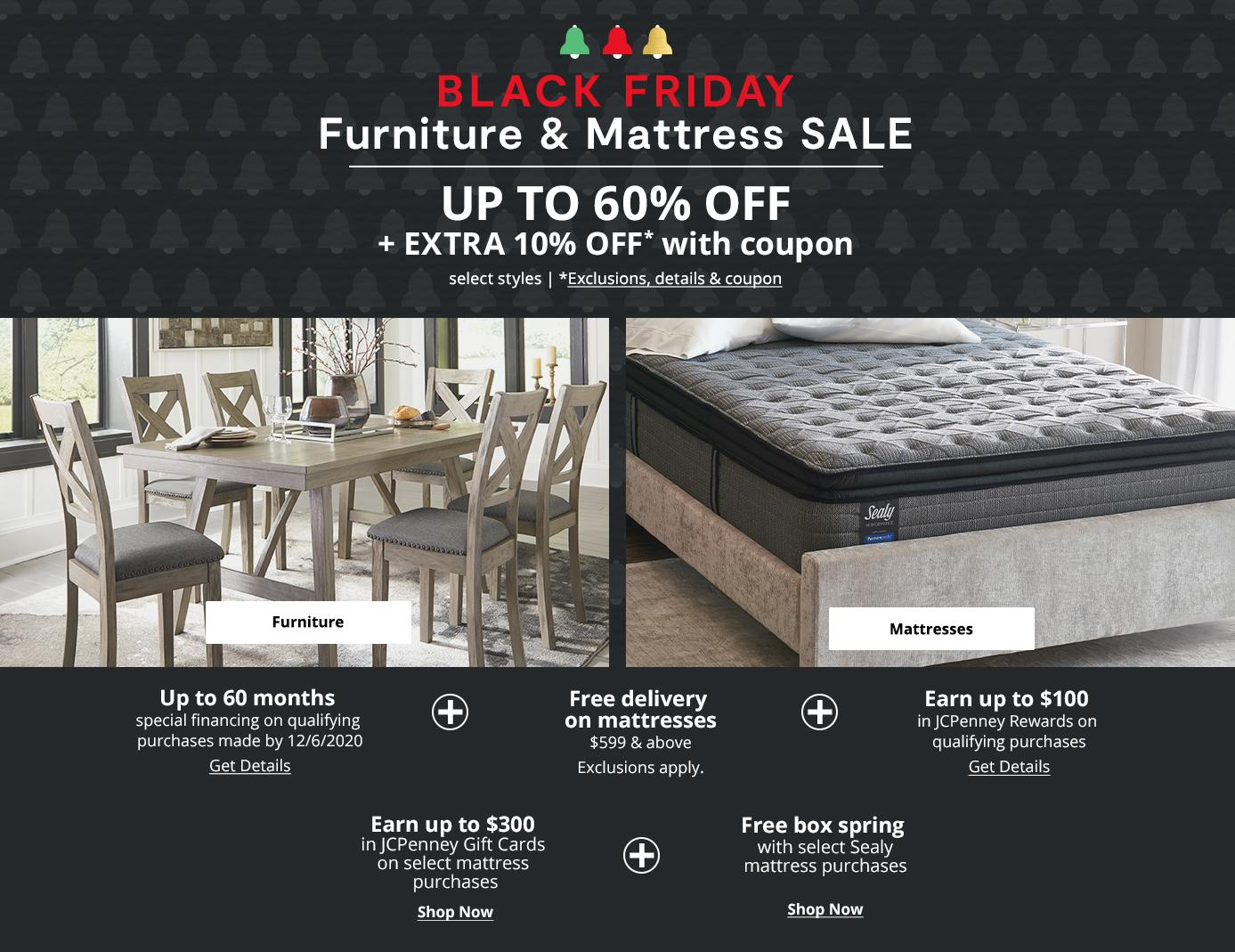 Black Friday Furniture & Mattress SALE