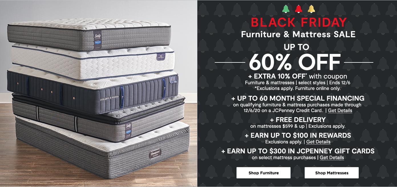 Black Friday Furniture & Mattress Sale. Up to 60% off . Shop Furniture & Mattress