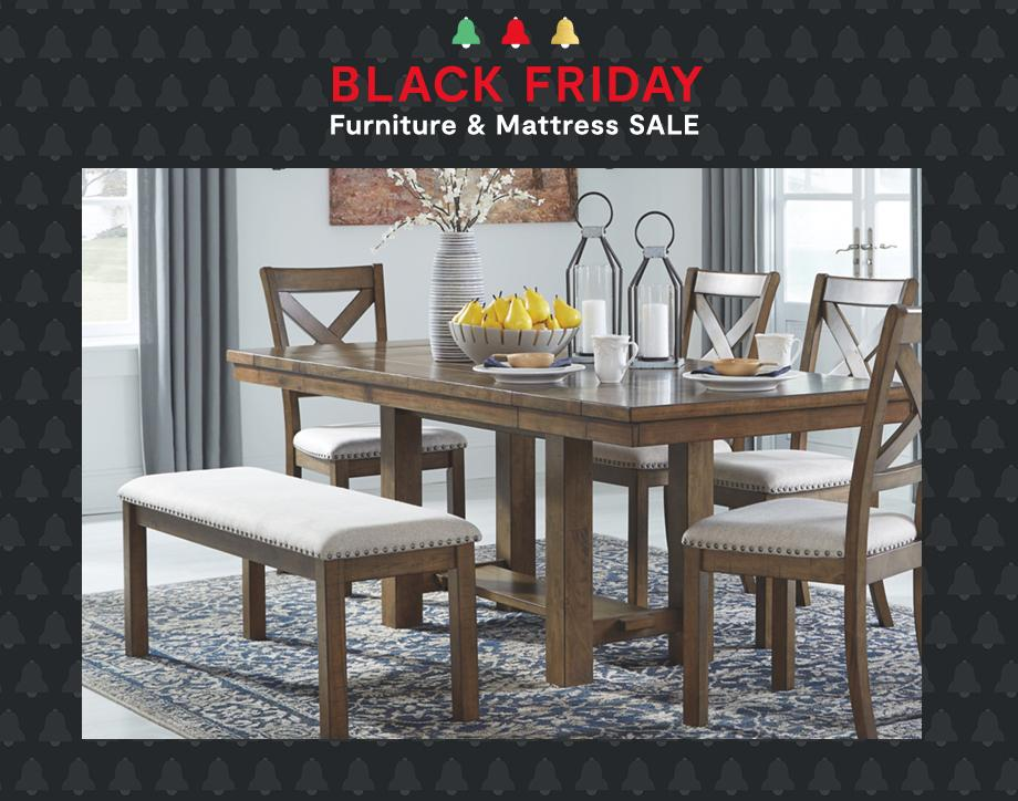 Black Friday Furniture & Mattress Sale UP TO 60% OFF  +EXTRA 10% OFF* with coupon On furniture | select styles | Ends 12/6 Shop Now