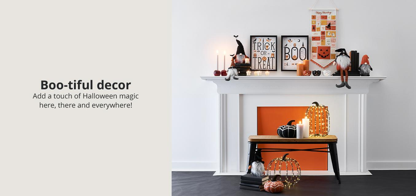 Boo-tiful decor