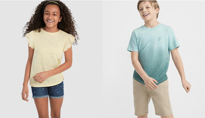Casual looks for every day Great-looking clothes that stand up to the most energetic playtimes.