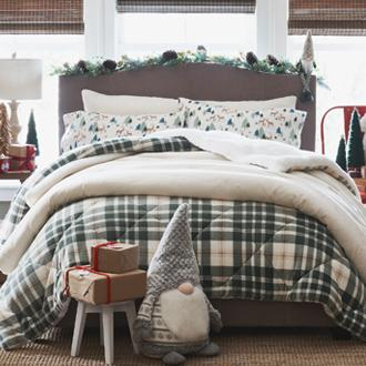 Cozy Bedding Make your guest room comfortable  and inviting