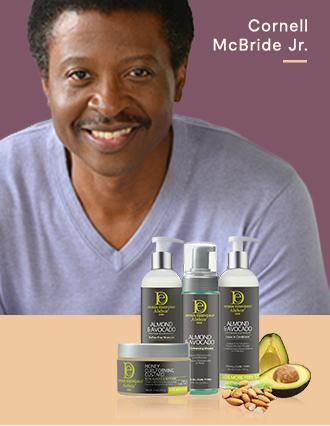 Design Essentials® Just your (hair) type: Formulated  and made by people of color.
