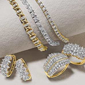 35-45% OFF Diamond jewelry