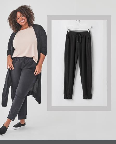 Easy On, Easy Go Joggers Take on the day (and night) comfortably.