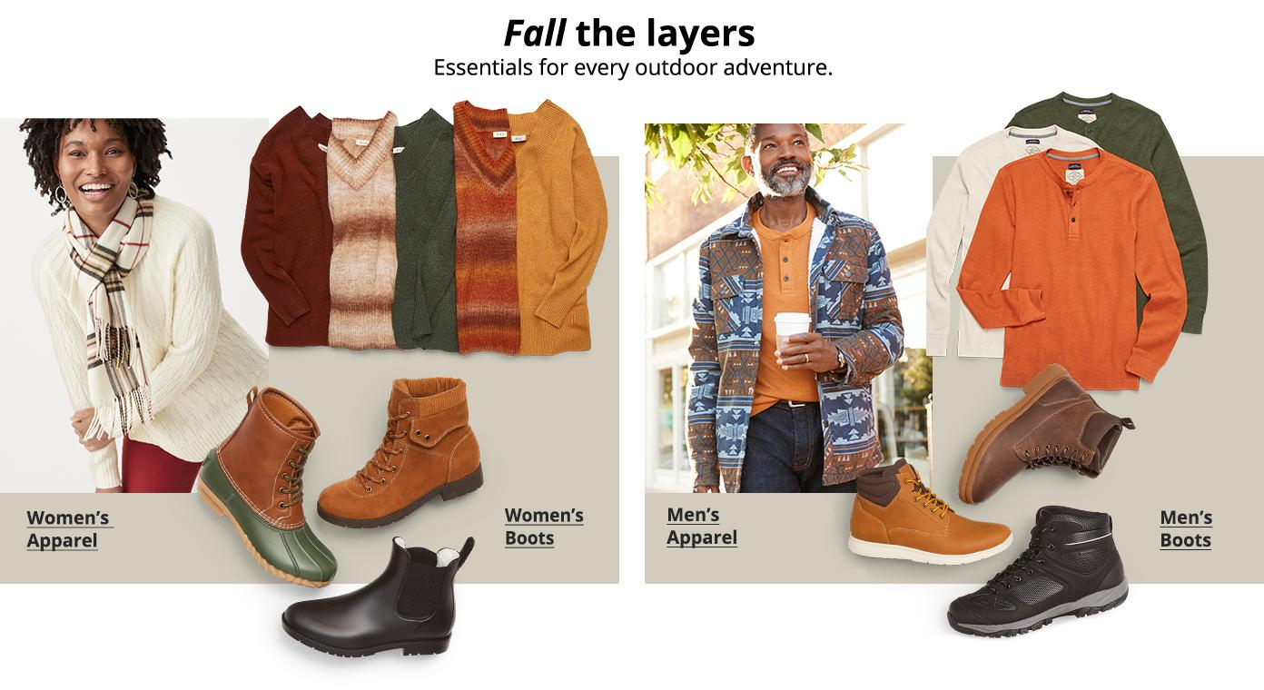 Fall the layers