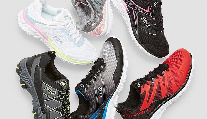 Fila Sneakers* Whether work or play, Fila steps up your game.