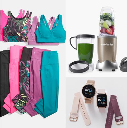 Fitness Fun Gift ideas for moms on the move. Because you're  never too old to go out and play.