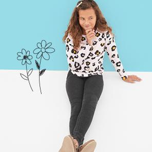 Girls' jeans, starting at $19.99