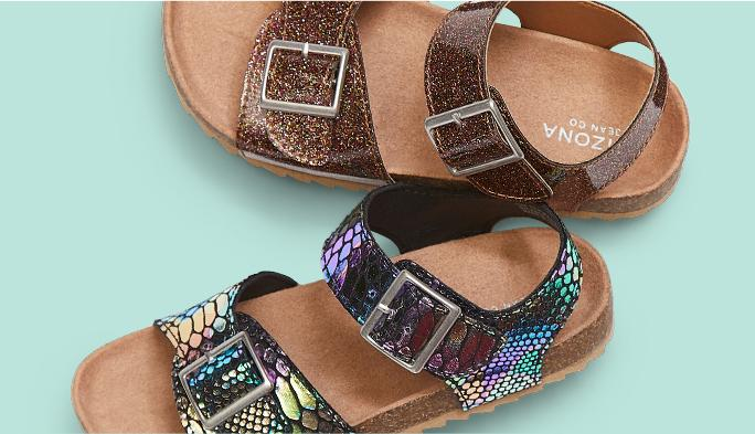 Girls' Sandals Adorable styles little toes love.