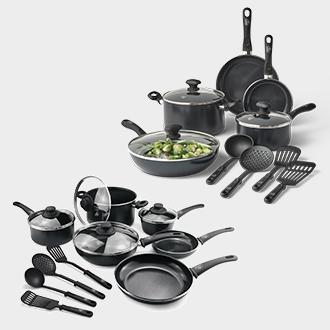 Greenlife 13-pc. or 14-pc. cookware set