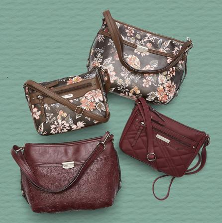 Handbags Get carried away with these fresh-picked styles.
