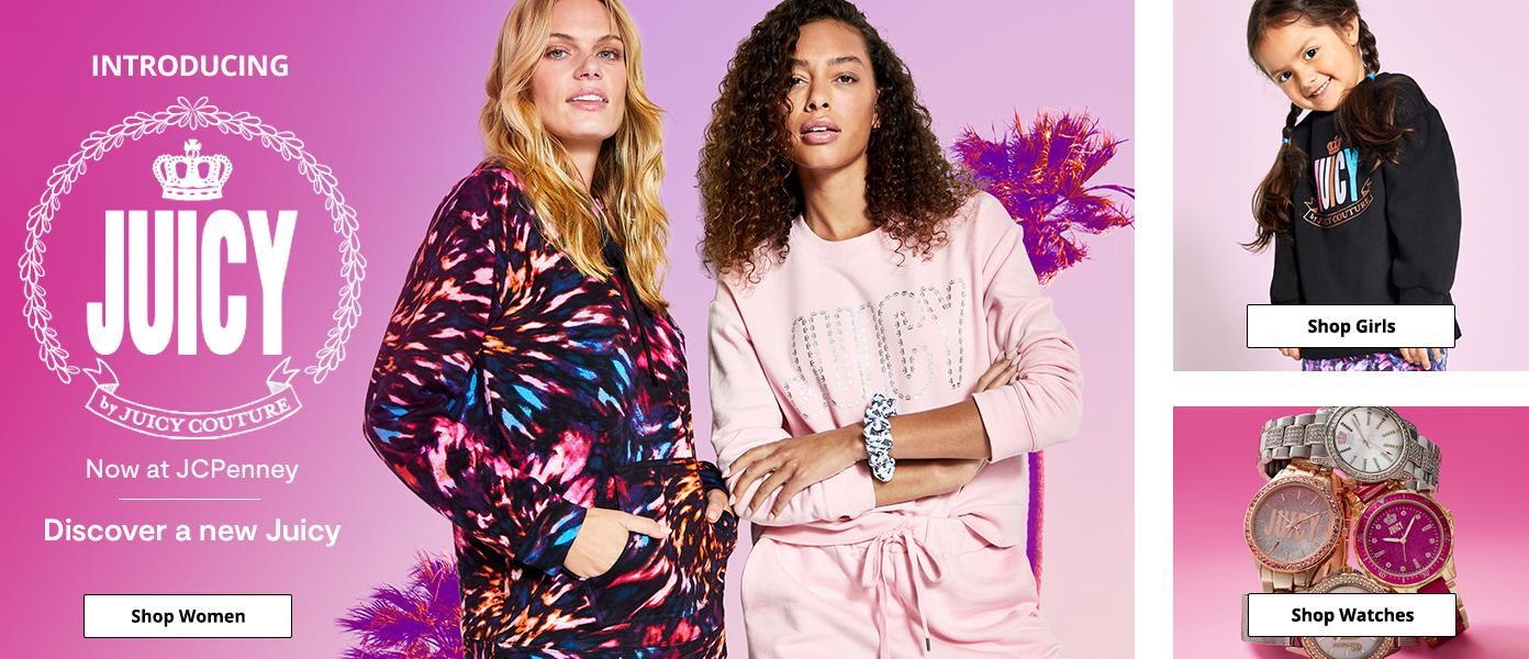 Introducing Juicy Now at JCPenney Discover a new juicy. shop women, watches girls