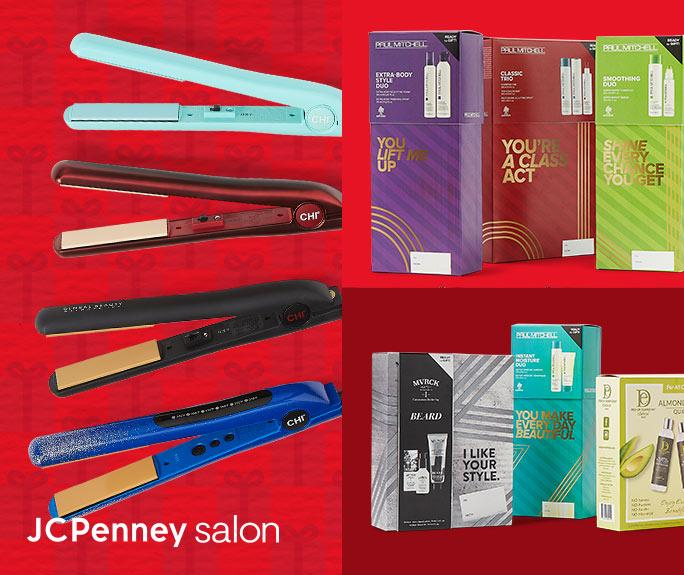 JCP Salon GIFT MERRY Fa-la-la-fabulous gifts from JCPenney Salon. Shop All