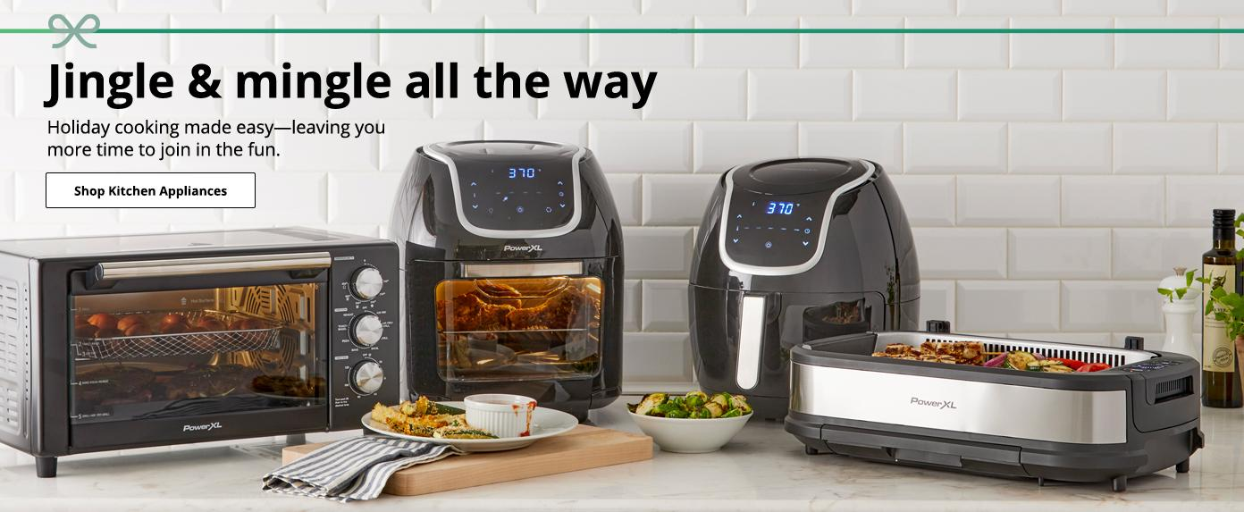 Jingle & mingle all the way Holiday cooking made easy—leaving you  more time to join in the fun. Shop Kitchen Appliances