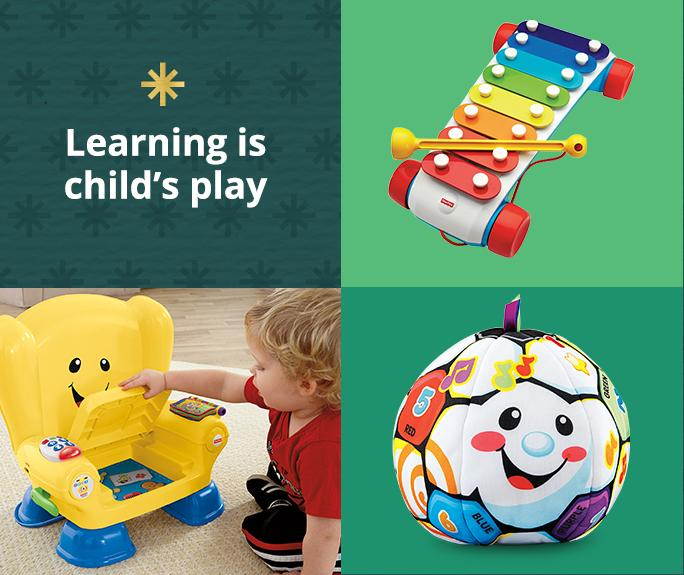 Learning is Childs play Fisher Price