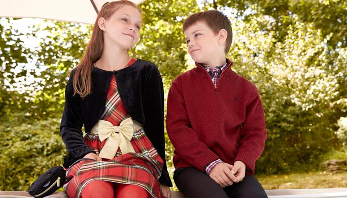 Matching Sibling Dressing Picture-worthy, holiday looks bring smiles for miles.