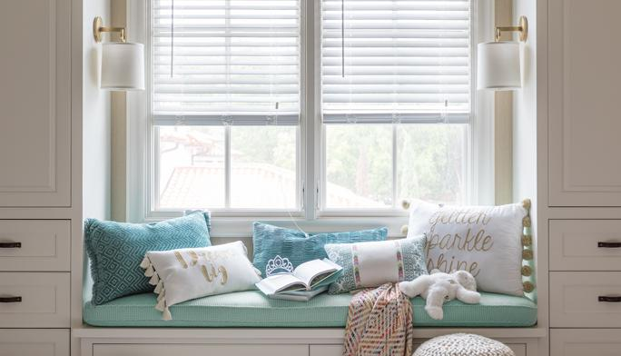 Measure & install  Want the perfect look? Choose  custom-fit curtains, blinds or shades