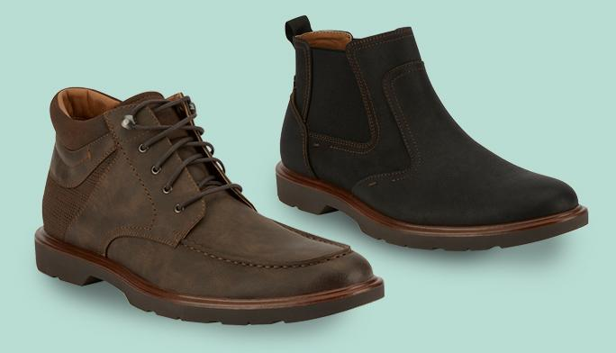 Men's Boots Reach new heights with the  best styles of the season.
