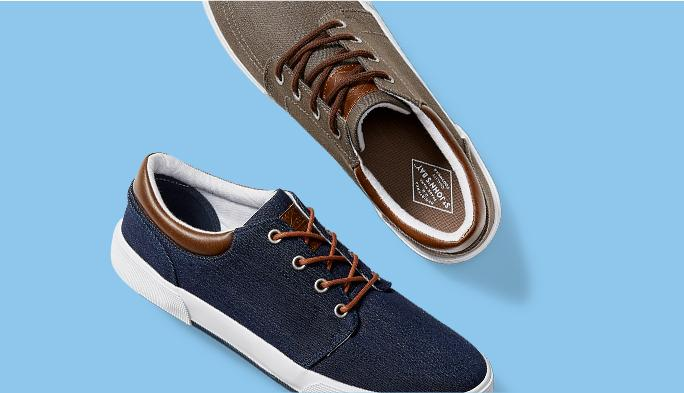 Men's Casuals Make strides in casual comfort.