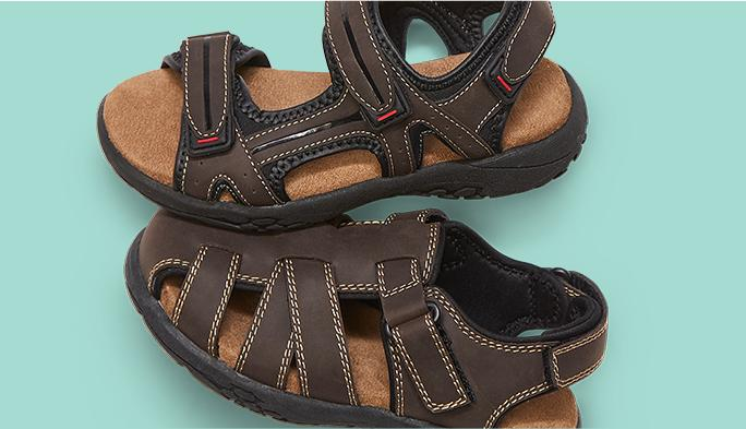 Men's Sandals Beat the heat in style.
