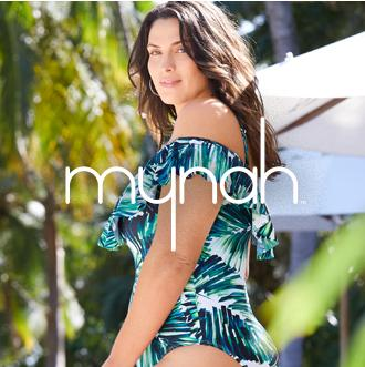 mynah Your stylish swim escape Turn the tides—and a few heads— in swimwear styles that are meant to stand out. Only at JCPenney.