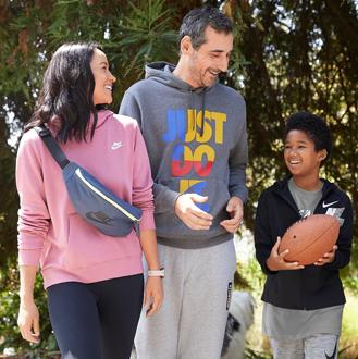 Nike activewear & shoes for the family