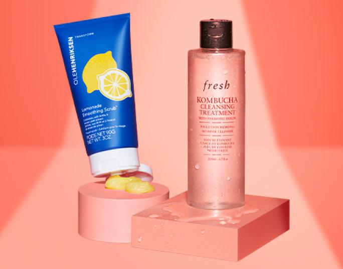 Olehenriksen and Fresh Kombucha Cleansing Treatment