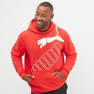 Puma big & tall fleece hoodie