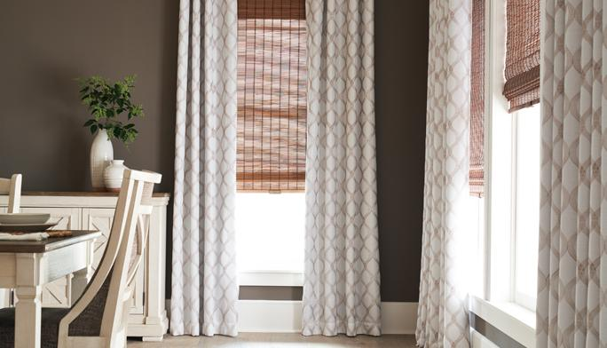 Ready to Hang Short on time? Opt for ready-to-hang  curtains, blinds or shades.