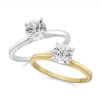 Ring Size Guide - Solitaire