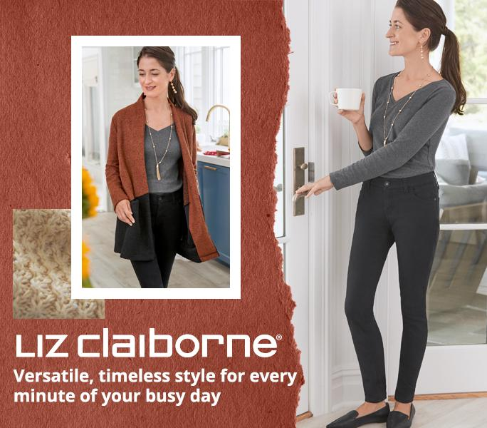 Shop Liz Claiborne Versatile, timeless style for every  minute of your busy day
