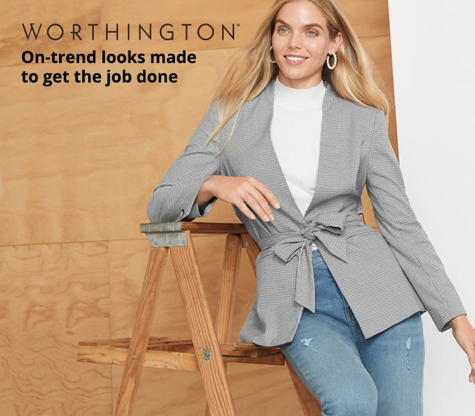 Shop Worthington On-trend looks made  to get the job done