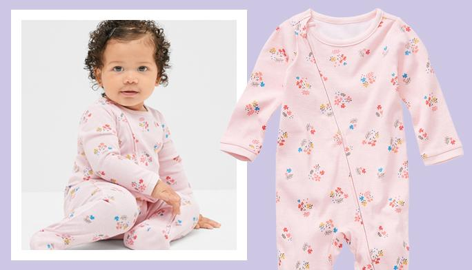 Sleep & Play & Pajamas Adorable styles ready for nap time, play time, any time.