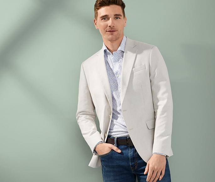 Sport Coats Styles to wear everywhere—even the virtual office.