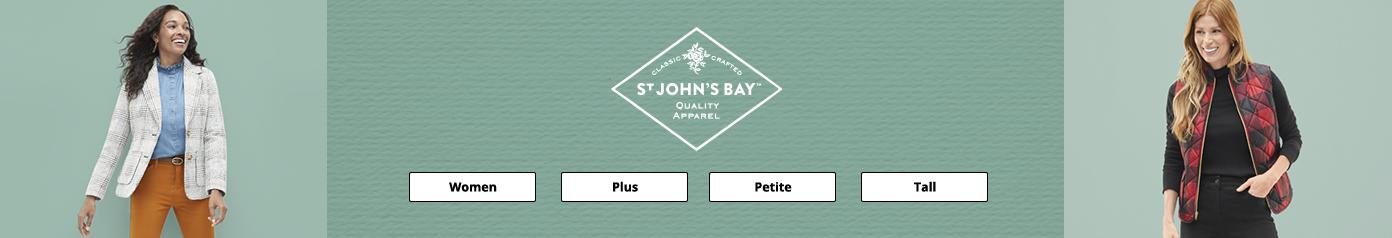 St Johns Bay quality apparel Women Plus Petite Tall