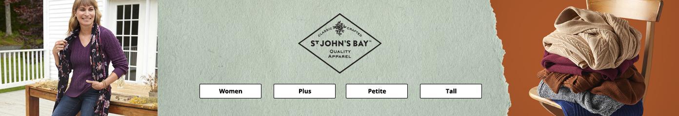 St Johns Bay women plus petite tall