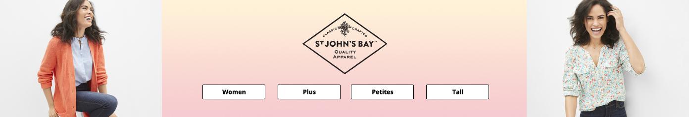 St Johns Bay women plus petites tall