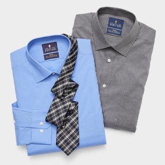Stafford easy-care stretch dress shirt