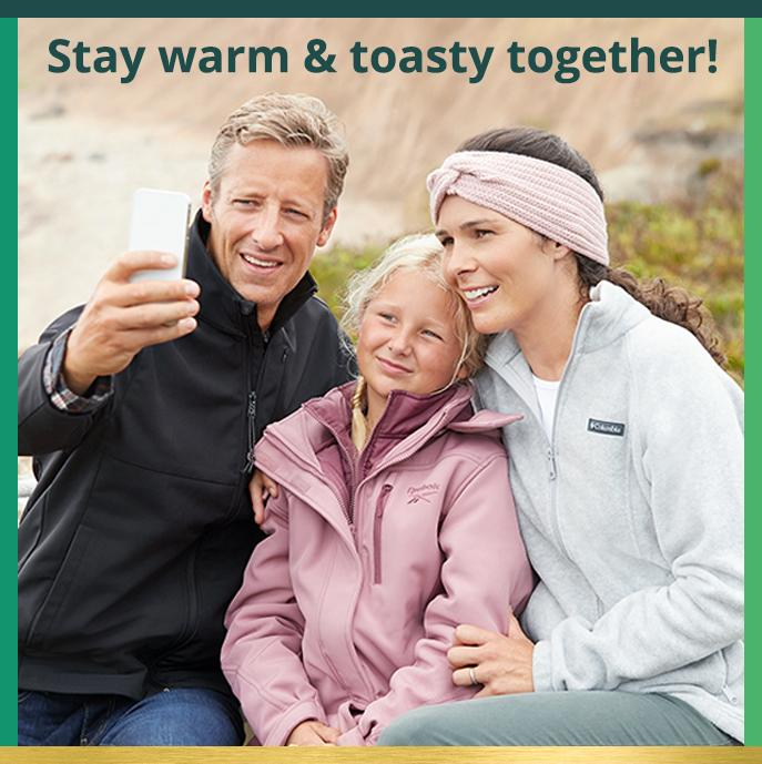 Stay warm & toasty together!