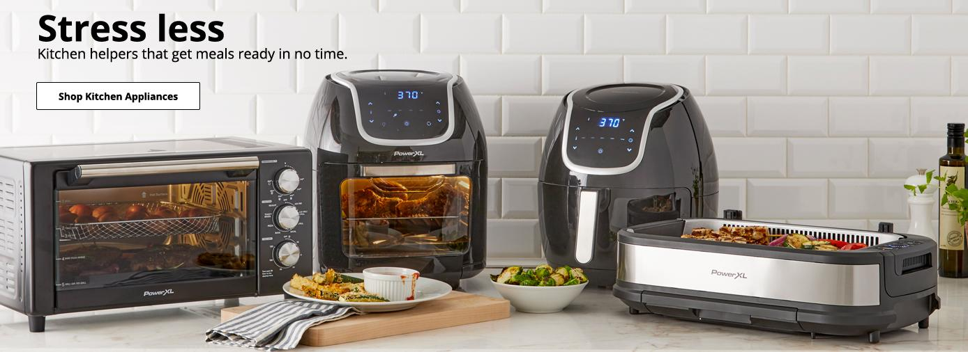 Stress less Kitchen helpers that get meals ready in no time.  Shop Kitchen Appliances