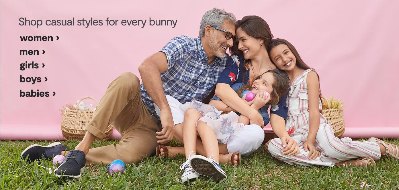 Sweet Savings for every bunny. women men girls boys babies