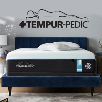 Tempur-Pedic Motion cancellation and  cooling technology help you  stay asleep longer. Excluded from coupons.
