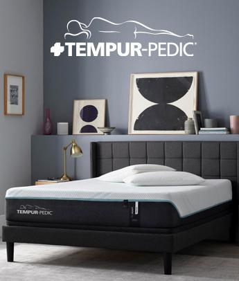 Tempur-Pedic TEMPUR® materials  provide pressure relief and  motion cancellation to  help you stay asleep longer.
