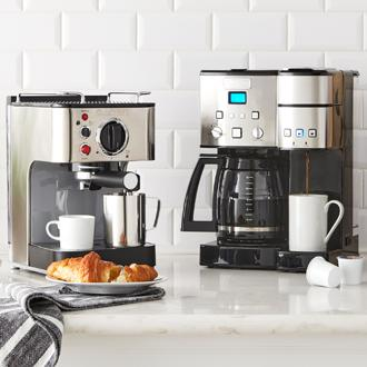 The Coffee Shop Start the day off right with barista-style  coffee brewed right at home.
